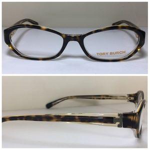 Tory Burch Brown Havana Eyeglasses Frames NWOT